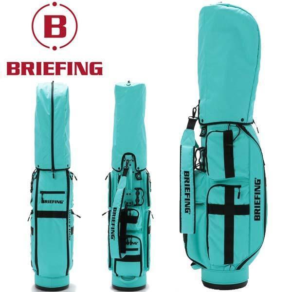 ブリーフィング ゴルフ キャディバッグ メンズ 軽量 8.5型 約3.1kg 5分割 BRG211D56 CR-6 クルーズ アクア レア ブランド BRIEFING GOLF takeuchi-golf