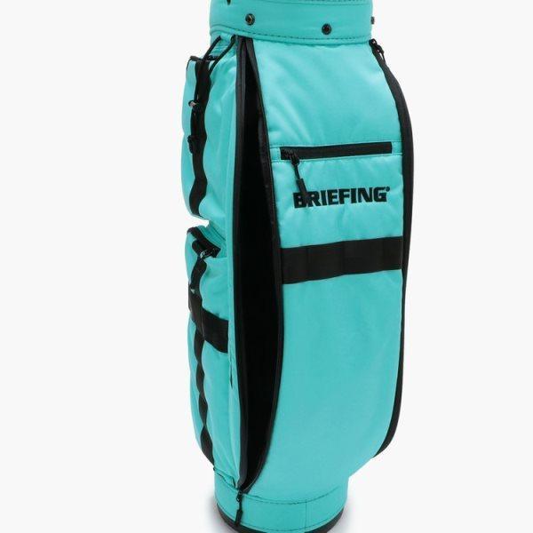ブリーフィング ゴルフ キャディバッグ メンズ 軽量 8.5型 約3.1kg 5分割 BRG211D56 CR-6 クルーズ アクア レア ブランド BRIEFING GOLF takeuchi-golf 08