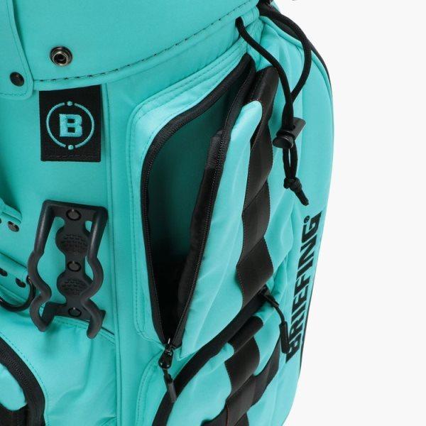 ブリーフィング ゴルフ キャディバッグ メンズ 軽量 8.5型 約3.1kg 5分割 BRG211D56 CR-6 クルーズ アクア レア ブランド BRIEFING GOLF takeuchi-golf 09