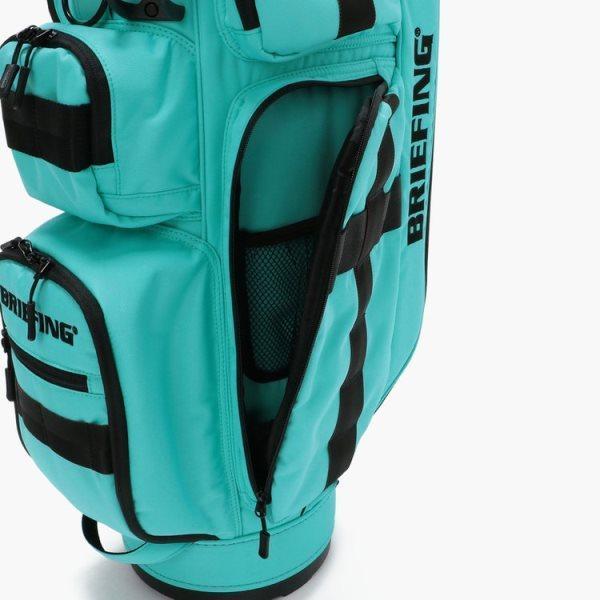 ブリーフィング ゴルフ キャディバッグ メンズ 軽量 8.5型 約3.1kg 5分割 BRG211D56 CR-6 クルーズ アクア レア ブランド BRIEFING GOLF takeuchi-golf 10