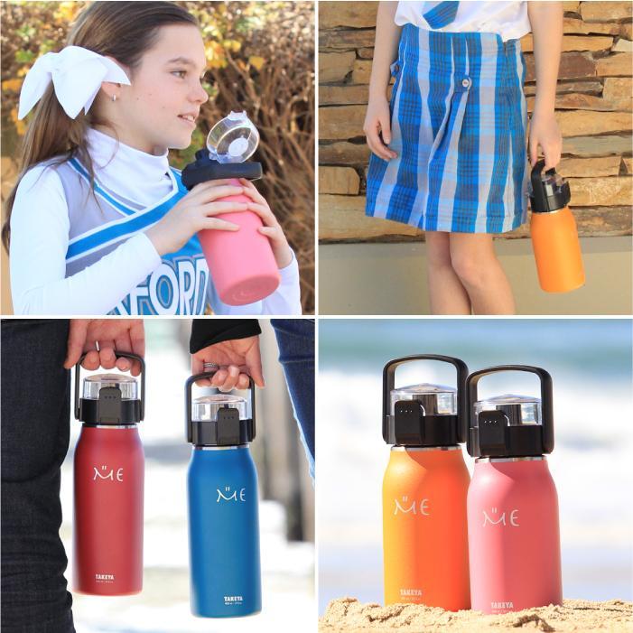 タケヤ メーカー公式 水筒 0.8L  MEボトル ステンレスボトル 800ml 直飲み 保冷専用 ハンドル仕様 ミーボトル TAKEYA |takeya-official|03