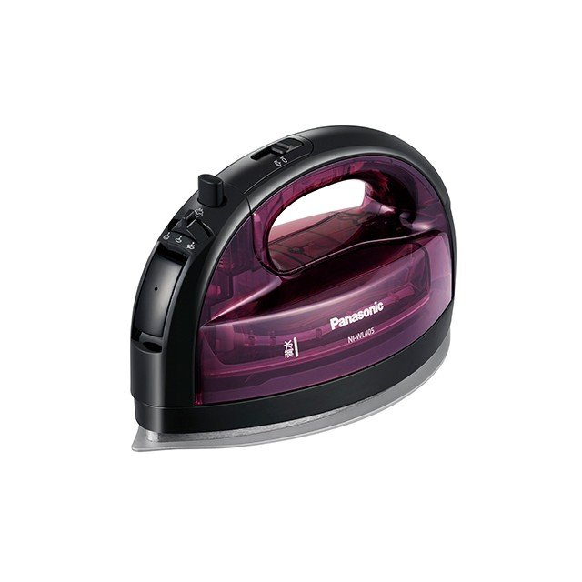 お気にいる 買い物 パナソニック コードレススチームアイロン NI-WL405-P Panasonic ピンク