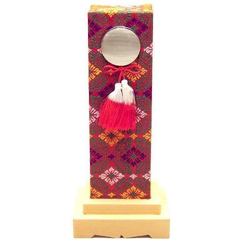霊璽 御霊代 在庫一掃売り切りセール 鏡錦付覆い メーカー在庫限り品 6寸 国産 日本製 桧材