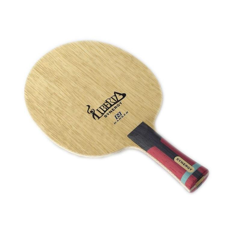 【最安値チャレンジ!】DARKER 卓球 ラケット リベルタシナジー 中国式 L-3921