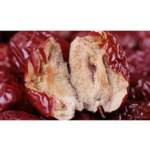 ひと粒、ひと粒、選び抜いた乾燥ナツメ(大紅棗)果実 木の実 上品な棗 ナツメ なつめ ドライフルーツ高品質な紅棗500g(約100〜110粒)|takouya|06