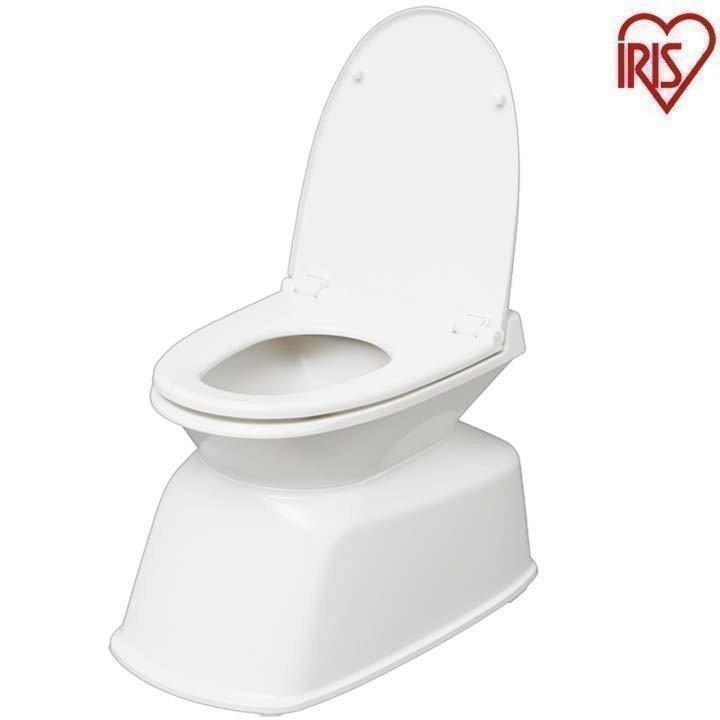 便座 洋式トイレ 70%OFFアウトレット 据置型 取り外し可能 高品質 簡単設置 リフォーム式トイレ トイレ 介護用品 アイリスオーヤマ ホワイト TR400
