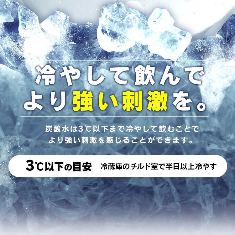 炭酸水 500ml 48本 強炭酸 炭酸飲料 ミネラルウォーター アイリスオーヤマ 水 飲料水|takuhaibin|12