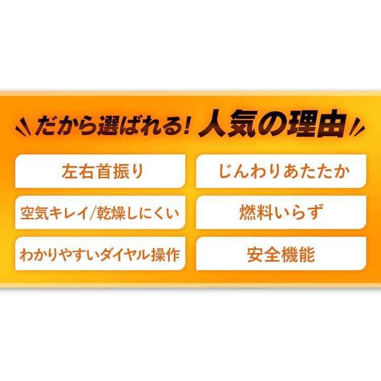 ストーブ ヒーター 遠赤外線電気ストーブ 縦型首振り ブラックコートヒーター ホワイト IESB-S800 アイリスオーヤマ takuhaibin 08