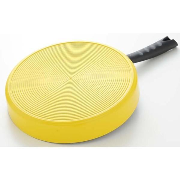 フライパン IH センターエッグトリプルパン IH対応 仕切り センターエッグパン 卵焼き器 玉子焼き エッグパン 76728 お弁当作り 卵焼き用フライパン|takuhaibin|04
