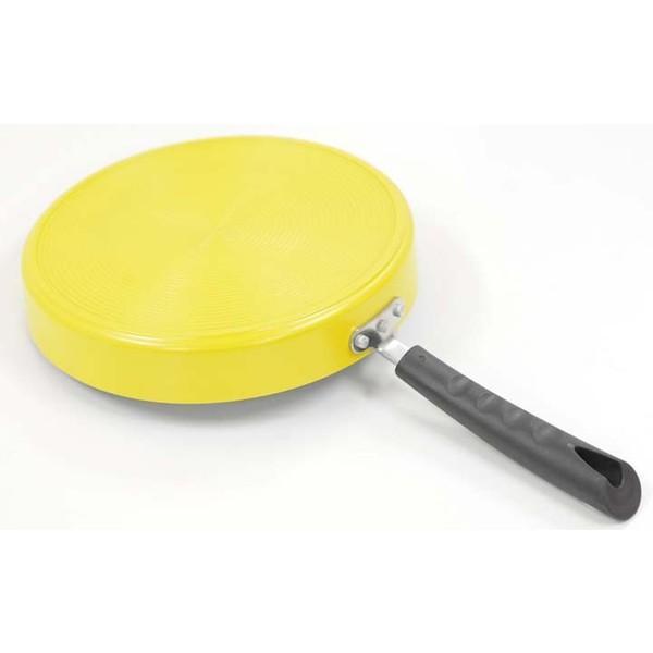 フライパン IH センターエッグトリプルパン IH対応 仕切り センターエッグパン 卵焼き器 玉子焼き エッグパン 76728 お弁当作り 卵焼き用フライパン|takuhaibin|05