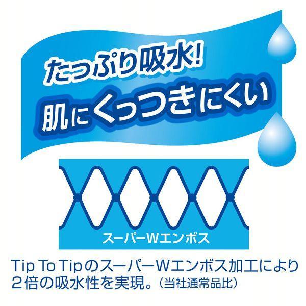 (6個セット) エリエール シャワートイレのためにつくった吸水力が2倍のトイレットペーパー 25m(112シート)×72ロール(12ロール×6パック)ダブル 大王製紙 (D)|takuhaibin|04
