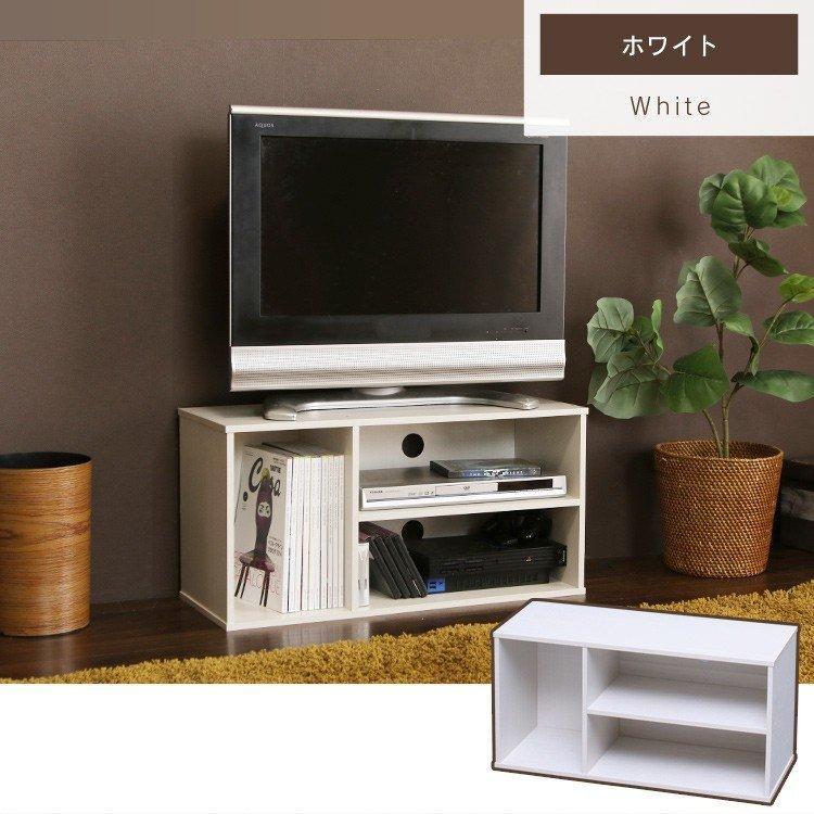 テレビ台 おしゃれ 収納 ローボード カラーボックス ボックス 収納 ラック モジュールボックス MDB-3S アイリスオーヤマ カラーボックス シンプル|takuhaibin|11