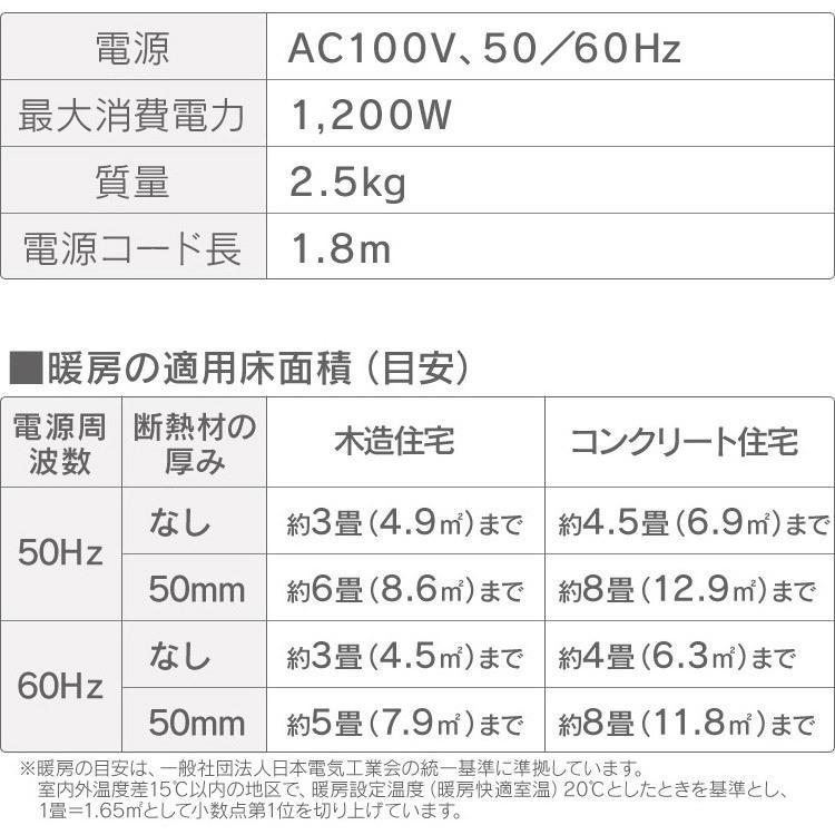ファンヒーター 小型 セラミックヒーター 人感センサー付き大風量セラミックファンヒーター 木目調 PDH-1200TD1-T アイリスオーヤマ|takuhaibin|19