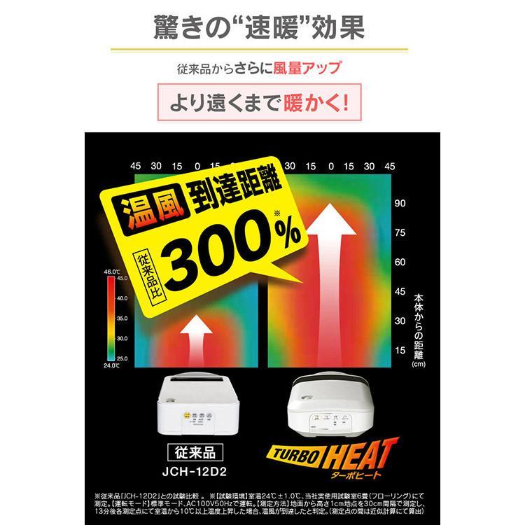 ファンヒーター 小型 セラミックヒーター 人感センサー付き大風量セラミックファンヒーター 木目調 PDH-1200TD1-T アイリスオーヤマ|takuhaibin|03