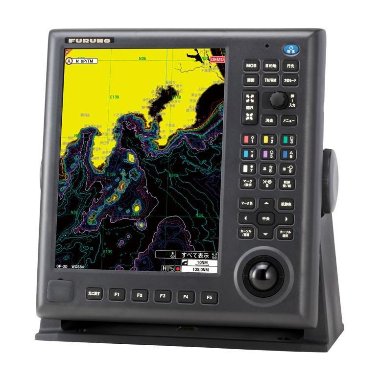 12.1型GPSプロッター GP-3700