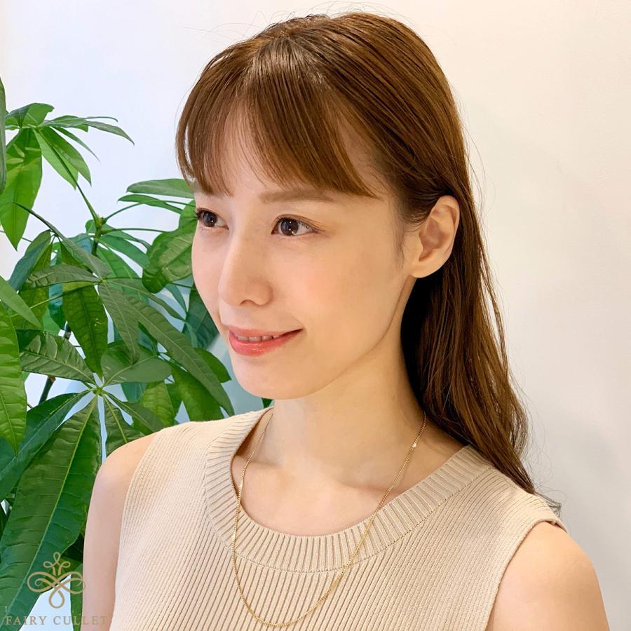 18金ネックレス K18 2面喜平チェーン 日本製 検定印 5g 50cm 引き輪|takumi-shopping|06