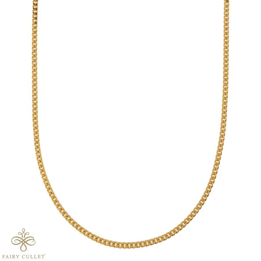 24金ネックレス K24 2面喜平チェーン 日本製 純金 検定印 9.3g 45cm 引き輪|takumi-shopping|02