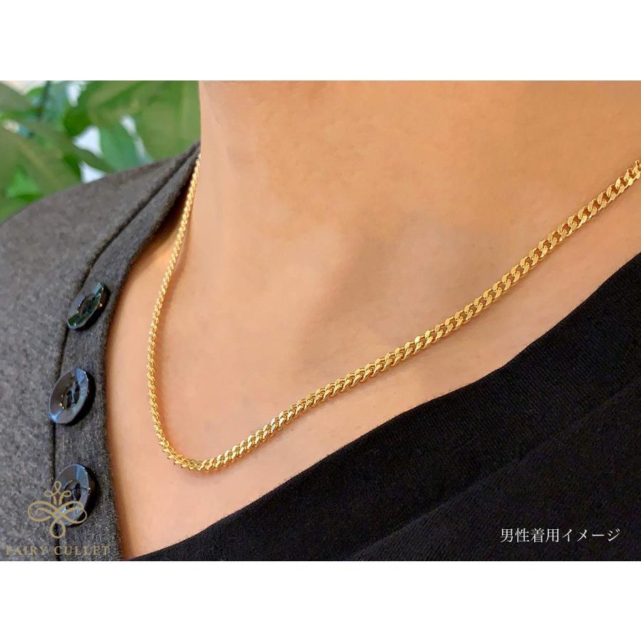 18金ネックレス K18 2面喜平チェーン 日本製 検定印 20g 50cm 引き輪 takumi-shopping 06