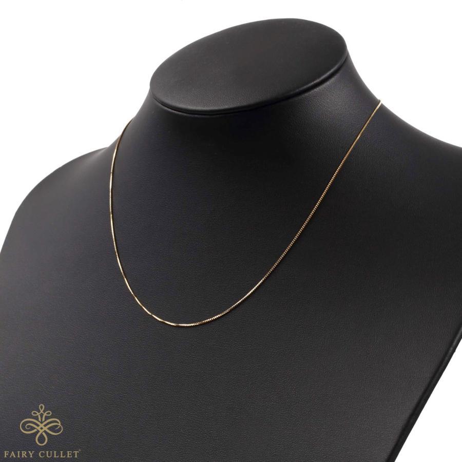[フェアリーカレット] 18金ネックレス K18 ベネチアンチェーン  45cm (スライドピンアジャスター 0.7mm幅) takumi-shopping 05