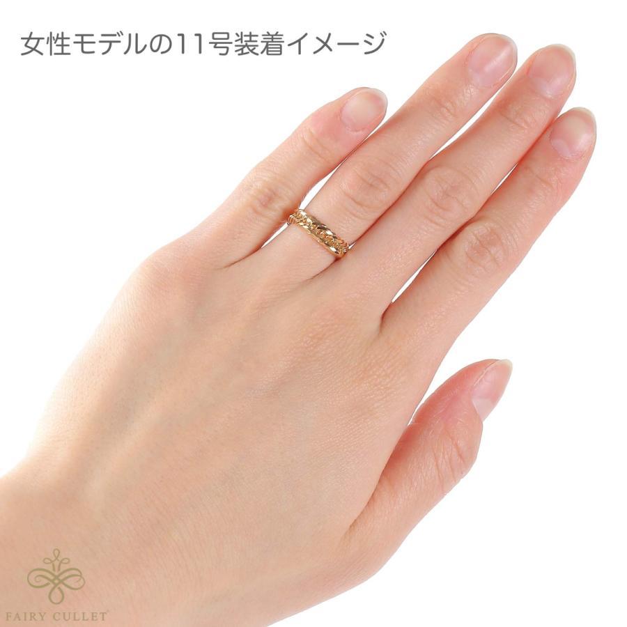 18金リング K18 12面トリプル喜平リング 日本製 (11号、内径16.3mm 外径19.7mm) takumi-shopping 02