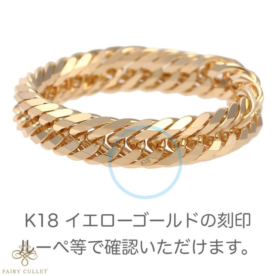 18金リング K18 12面トリプル喜平リング 日本製 (11号、内径16.3mm 外径19.7mm) takumi-shopping 04