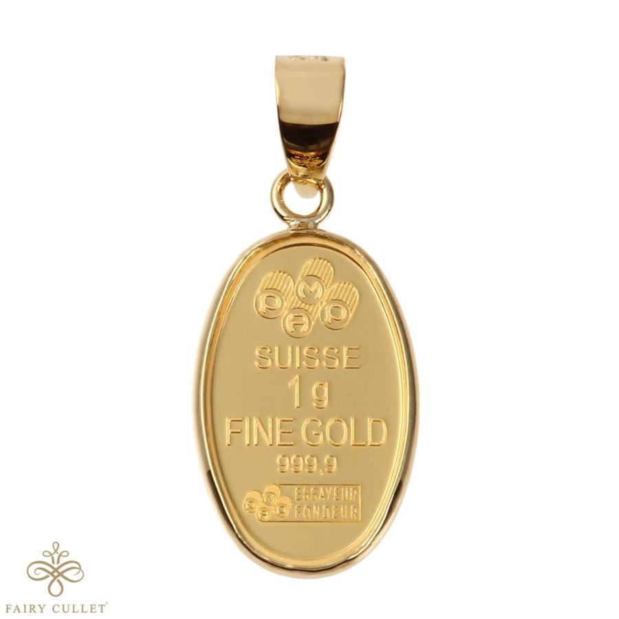 スイスPAMP社製の純金製の聖母マリアプレートと日本製18金フレームのペンダントトップ|takumi-shopping|05