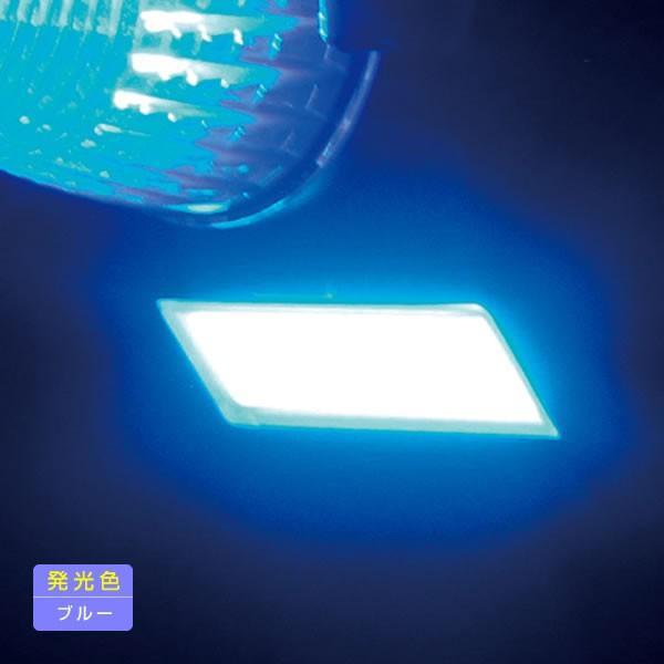 YAC 閃光LEDダウンライト 全6色・イエロー・アンバー・レッド・グリーン・ブルー・ホワイト LED ダウンライト トラック・カー用品 takumikikaku 08