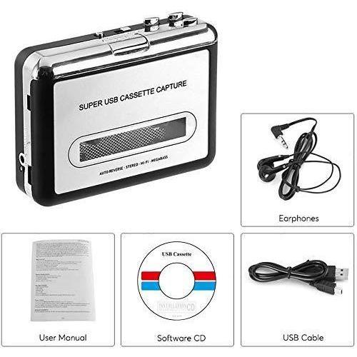 2020年最新版 ダイレクト カセットテープ MP3変換プレーヤー カセットテープデジタル化 コンバーター PC不要 USB? takumire 04