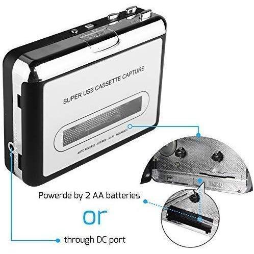 2020年最新版 ダイレクト カセットテープ MP3変換プレーヤー カセットテープデジタル化 コンバーター PC不要 USB? takumire 05