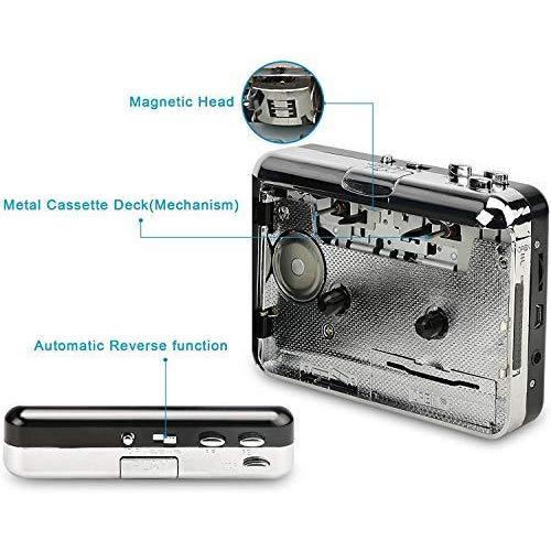 2020年最新版 ダイレクト カセットテープ MP3変換プレーヤー カセットテープデジタル化 コンバーター PC不要 USB? takumire 06