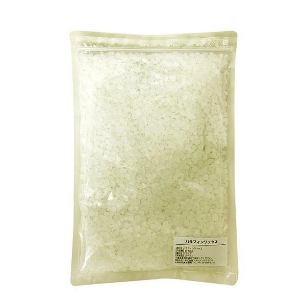 パラフィンワックス ペレット 返品交換不可 500g キャンドル アロマキャンドル ロウソク ハンドメイド 材料 毎日続々入荷