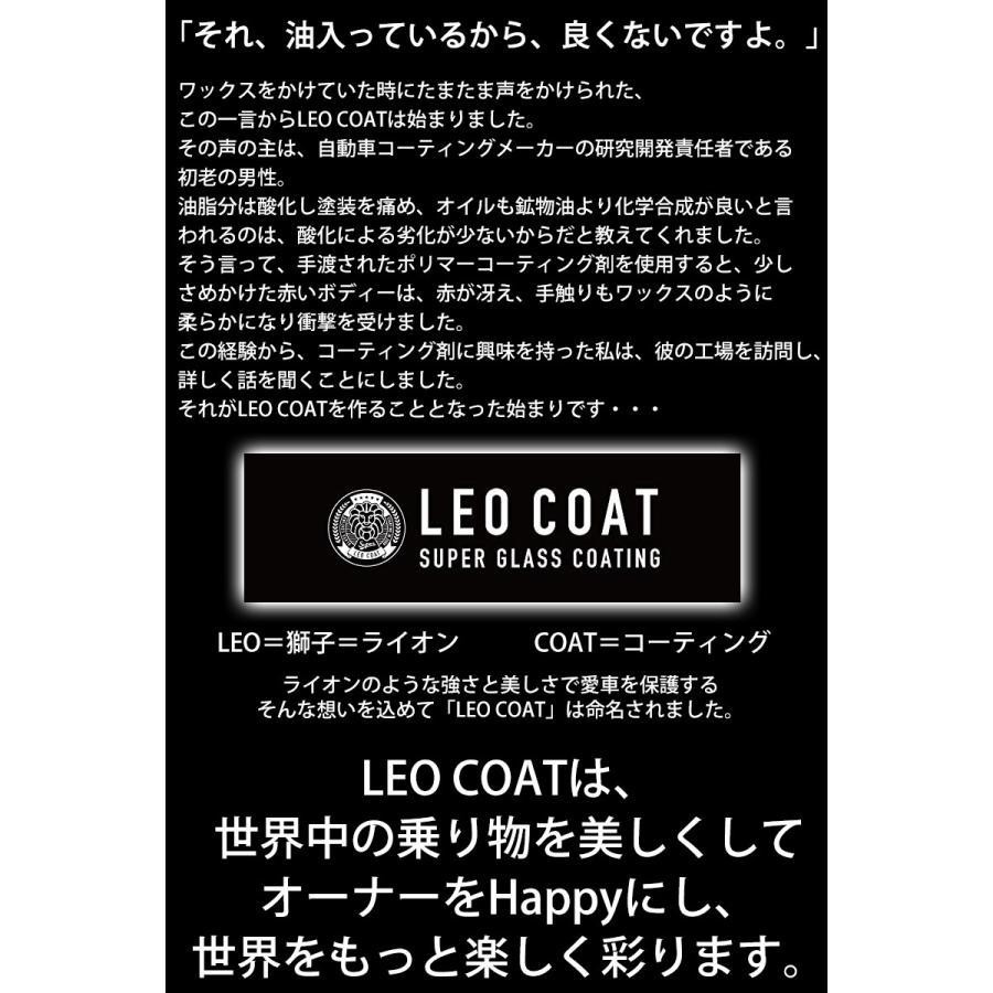 LEO COAT for Motorcycles バイク用 レオコート スーパー ガラスコーティング セット プロ仕様 送料無料|takumiyshop|10