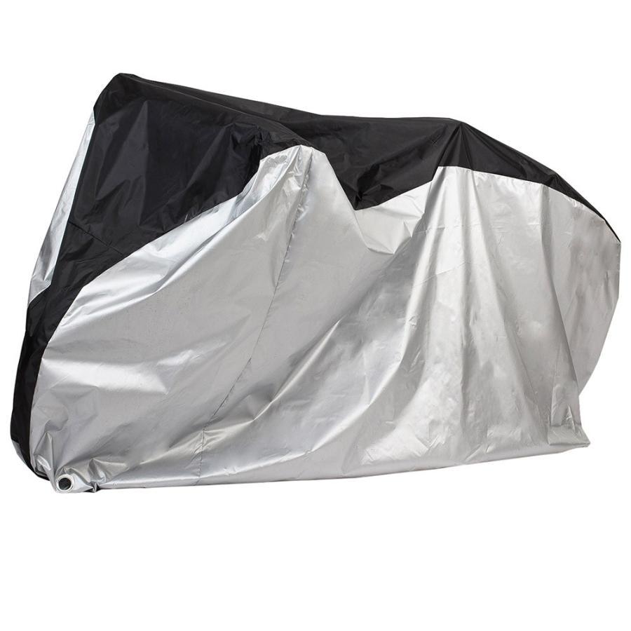 自転車カバー サイクルカバー 防水カバー  撥水加工 UVカット 29インチまで対応 収納袋付き 送料無料 カラー|takuta2|02