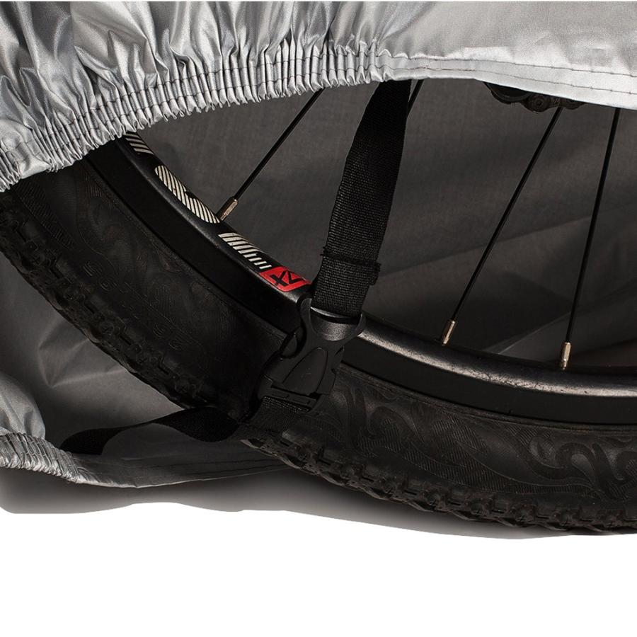 自転車カバー サイクルカバー 防水カバー  撥水加工 UVカット 29インチまで対応 収納袋付き 送料無料 カラー|takuta2|07