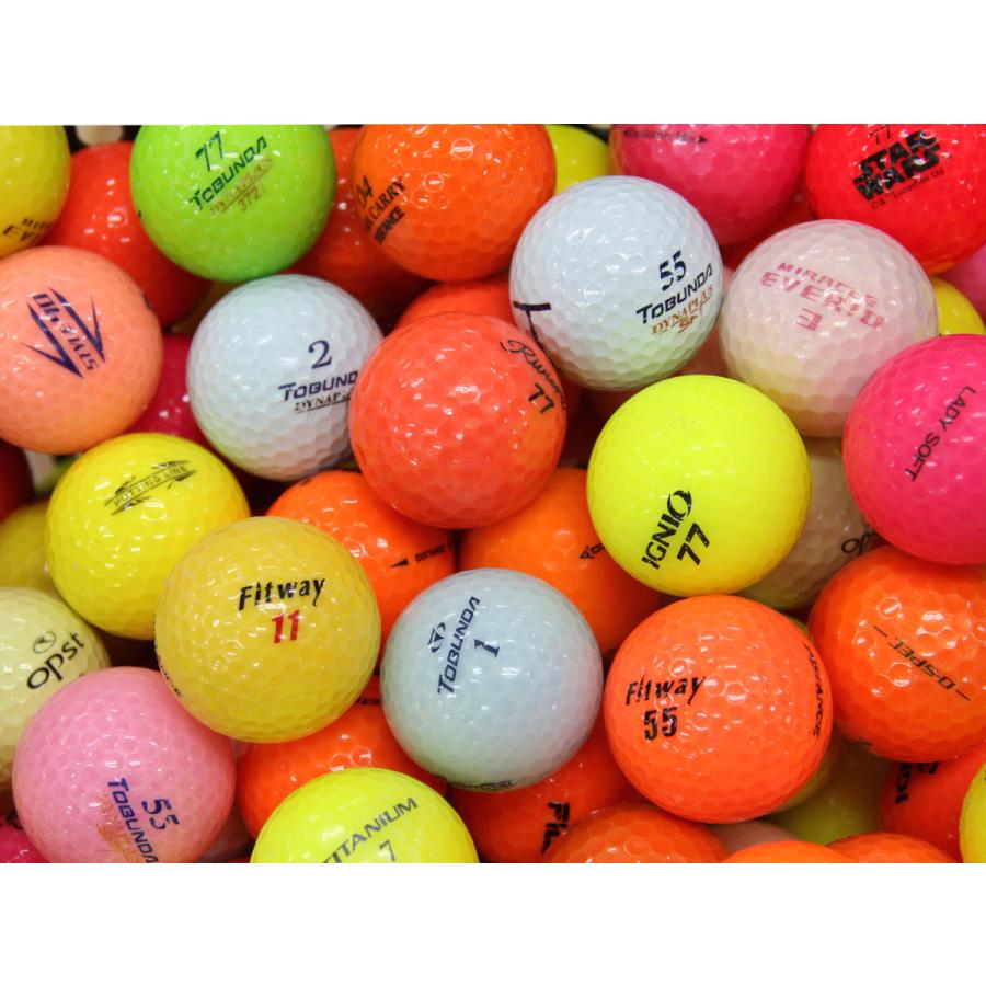 ABランク 海外並行輸入正規品 ブランド混合カラー 50個 球手箱ロストボール 流行