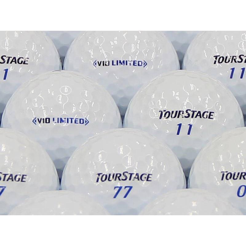 ロストボール ABランク ロゴなし ツアーステージ V10 LIMITED 2014年モデル ホワイト 100個セット