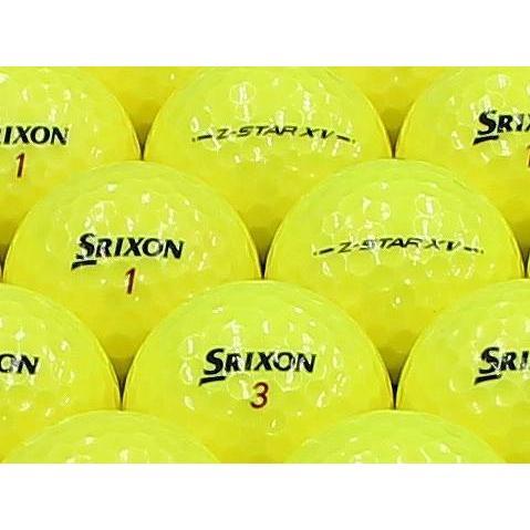 ロストボール ABランク ロゴなし スリクソン Z-STAR XV 2013年モデル プレミアムパッションイエロー 100個セット
