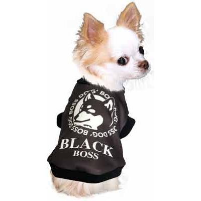 犬 服 ペットウェア 名入れ 秋冬 ホット パロディ おもしろい チワワ ダックス トイプードル 名前入り ワンコーヒーボス 3D tambedy 11