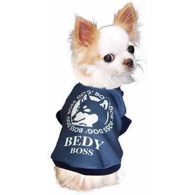 犬 服 ペットウェア 名入れ 秋冬 ホット パロディ おもしろい チワワ ダックス トイプードル 名前入り ワンコーヒーボス 3D tambedy 12