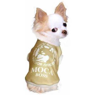 犬 服 ペットウェア 名入れ 秋冬 ホット パロディ おもしろい チワワ ダックス トイプードル 名前入り ワンコーヒーボス 3D tambedy 13