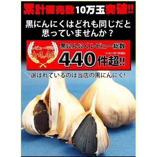 黒にんにく青森 お試し用2玉分 約10日分 田子の黒 セール ポイント消化 送料無料|tamenobu-store|05
