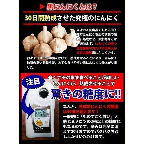 黒にんにく青森 お試し用2玉分 約10日分 田子の黒 セール ポイント消化 送料無料|tamenobu-store|08