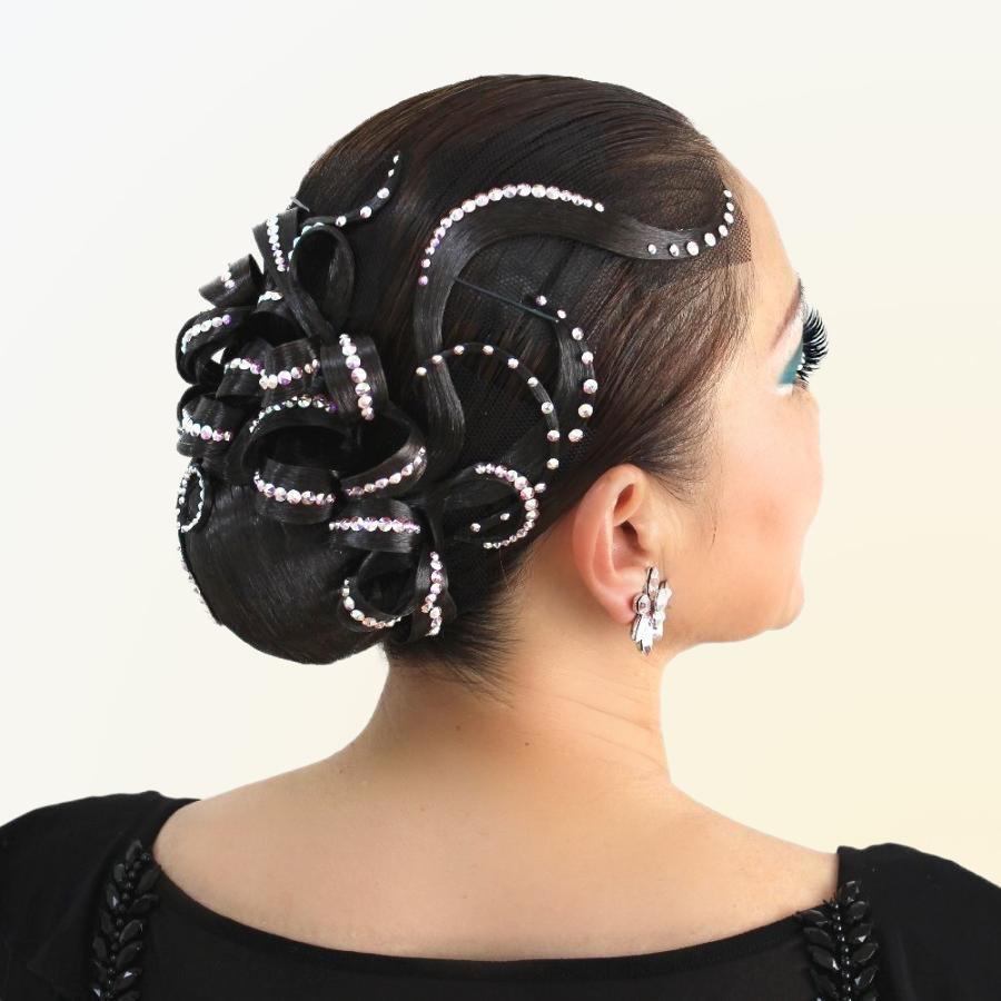 ダンスヘアアクセサリー ソシアルダンス 髪飾り ヘアードレス DQ126