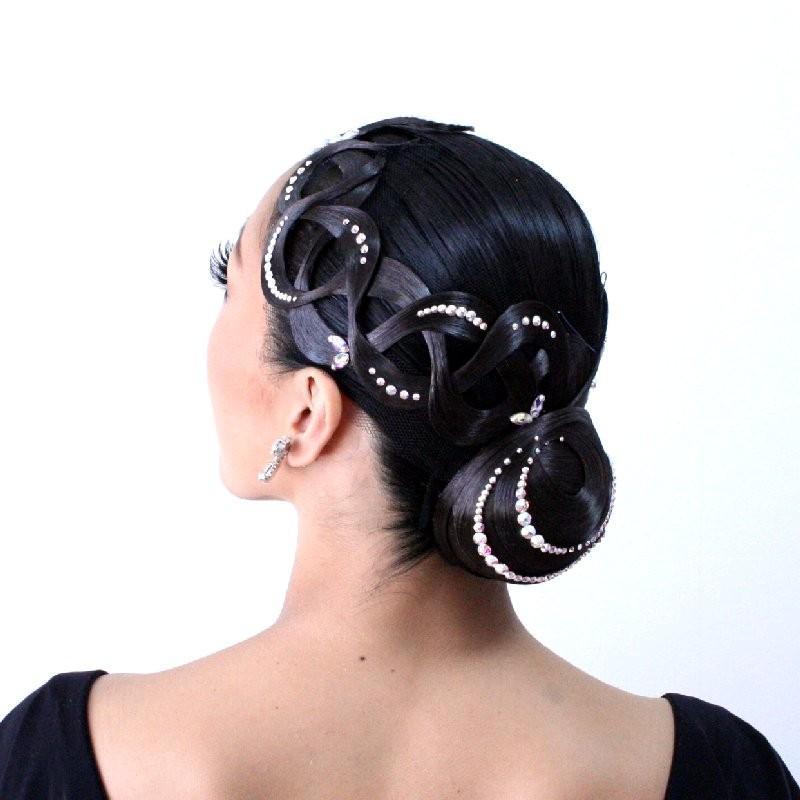 多美咲 カップオーナメント ヘアピース ダンス用 髪飾り KB084