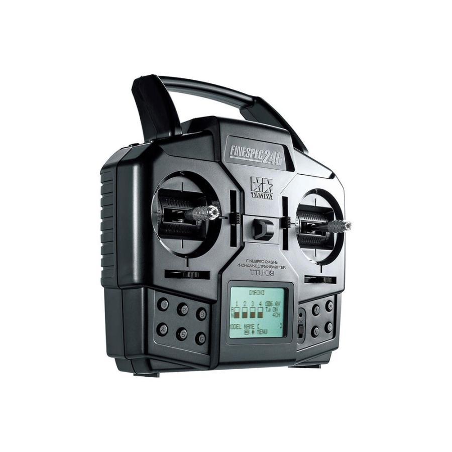 タミヤ(45068)ファインスペック2.4G 4チャンネルプロポ(送信機·受信機セット)