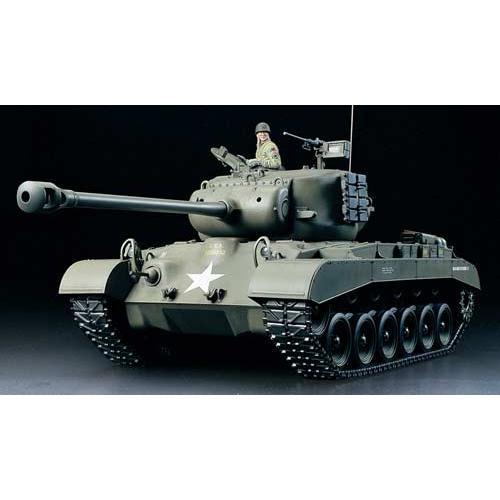 タミヤ(56015)1/16RC アメリカ戦車 M26 パーシング フルオペレーションセット