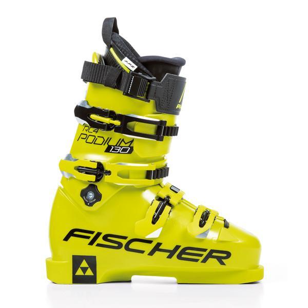 FISCHER〔フィッシャー スキーブーツ〕<2019>RC4 PODIUM 130〔黄/黄〕 旧モデル 型落ち メンズ レディース【TNPD】