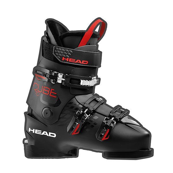 HEAD〔ヘッド スキーブーツ〕<2019>CUBE3 70〔キューブ3 70〕/ 黒 / anth.-赤 旧モデル 型落ち メンズ レディース〔SA〕【ウォーク ハイクモード】