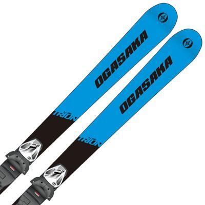 19-20 OGASAKA〔オガサカ ジュニア スキー板〕<2020>TRIUN〔トライアン〕G-Junior + SLR 7.5 GW AC 金具付き・取付無料