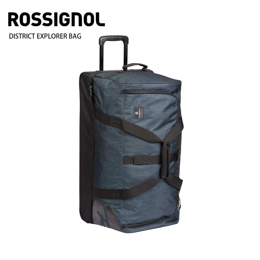 19-20 ROSSIGNOL〔ロシニョール キャスター付バッグ〕<2020>DISTRICT EXPLORER BAG RKIB310